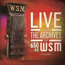 650 AM WSM LIVE FROM THE AR...-650 AM WSM LIVE FROM THE ARCHIVES 1  VINYL LP NEW