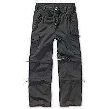 Brandit - Savanna SavannahTrekking Trouser Negro Pantalón Cargo De Hombre