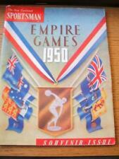Mar-50 EMPIRE Games: la Nuova Zelanda SPORTIVO Souvenir emissione, 98 pagine (copertura i