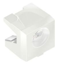 Ir Infrarrojo + visible Fototransistor PLCC 120 ° laterales detectar Osram SFH 325-3/4