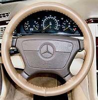 Lexus Genuine Leather Steering Wheel Cover - All Models Custom  Wheelskins WSLX