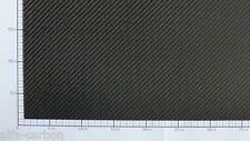 2mm CFK Carbon Platte  Länge 300mm-600mm x Breite 100mm-400mm