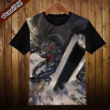 Anime BERSERK Cool Cosplay Clothing T-Shirt Casual Short Sleeve Unisex TEE #15