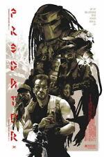 158022 Predator Arnold Schwarzenegger Beat Monster Hot Wall Print Poster Affiche