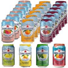 San Pellegrino Sparkling Fruit Drink Juice All Flavours Drink 330ml Pack of 24