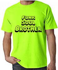Funk Soul hermano Neon T-Shirt-Fatboy Slim Funkadelic Curtis Mayfield-S-XXL