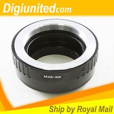 M42 screw mount lens to Samsung NX mount camera adapter NX10 NX11 NX100 NX110