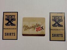 Wrangler Mens 20X Western Shirt Botton Down Ass. Colors&Patterns-CLOSEOUT SELL !