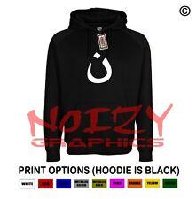 Nazarene #1 Christian Hoodie Black Sweatshirt Jesus Religious Worship Rap Rock