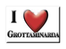 CALAMITA CAMPANIA FRIDGE MAGNET MAGNETE SOUVENIR LOVE GROTTAMINARDA (AV)--