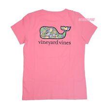 "NWT Vineyard Vines Women SS Graphic Pocket Crew Tee T-Shirt ""PAIN KILLER WHALE"""