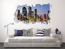 3D Brisbane Australia022 Wall Murals Stickers Decal breakthrough AJ WALLPAPER CA