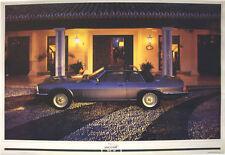 JAGUAR xj-sc V12 Classic Auto POSTER PICTURE PRINT