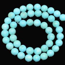 "4mm 6mm 8mm  SLEEPING BEAUTY Turquoise Genstone Round Beads 16"""