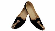 Mens Jutti Mojari Indian ethnic Wedding Khussa Sherwani Shoes US size 8-12 VB