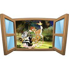 Sticker enfant fenêtre Bambi réf 1013 1013