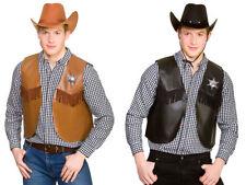 Vaquero Salvaje Oeste Cintura Vestido Elegante Abrigo alguacil Accesorio Mens damas