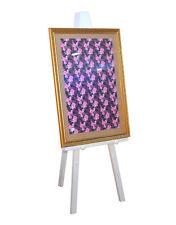 Heavy Duty GRECO TREPPIEDE CAVALLETTO grande opera d'arte Bianco Display Stand A1 A0 Wood CAVALLETTI