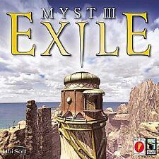 Myst III 3 Exile  PC and Mac Game CD-ROM Ubisoft SEALED IN ORIGINAL BOX
