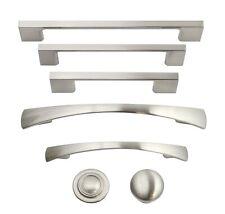 Brushed Satin Nickel Cabinet Hardware Pulls Knobs Handles Kitchen Hardware