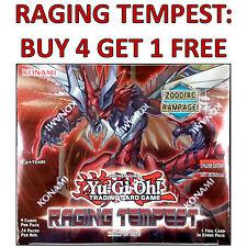 YU-GI-OH! YUGIOH RAGING TEMPEST - RARE, SUPER RARE & ULTRA RARE - SELECT A CARD
