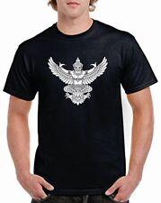 indio voladora GOD Pecho Camiseta con logo Garuda hindú budista MODA hípster
