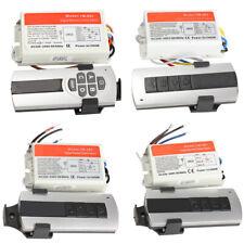 1/2/3/4 Ways ON/OFF 220V Wireless Remote Control Switch Digital Remote Control..