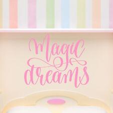 Sogni magici Quote fiabesca Adesivo Murale WS-46581
