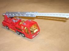 CAMION DE POMPIERS MATCHBOX 1972 / K-9 FIRE TENDER / PORTE ECHELLES / BON ETAT