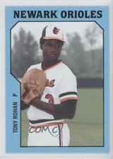 1985 TCMA Minor League #823 Tony Rohan Newark Orioles Rookie Baseball Card