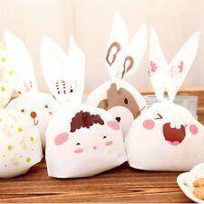 Rabbit Ears dibujos animados lindo galleta dulce BOLSAS de Plástico Embalaje Envoltura De Regalo Bolsa Fiesta