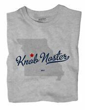 Knob Noster Missouri MO T-Shirt MAP