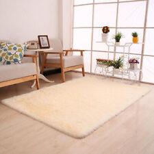 Fluffy Rug Anti-Skid Shaggy Area Rugs Dining Room Carpet Floor Mats Home Bedroom