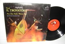 ARTURO BASILE VERDI Il Trovatore Highlights Rosalind Elias LM2617 Rome Opera