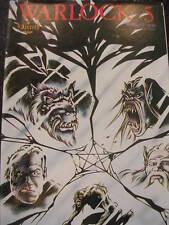 WARLOCK 5 Comic - No 17 - Date 12/1988 - US Aircel comics