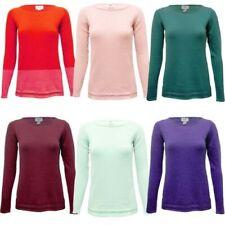 35b74431e83 Femme Uni Pull Tricot Femmes Pull Coton Col Bateau Basique Matériau Souple