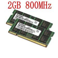 4G 4GB 2x2GB / 1GB PC2-6400 DDR2 800 SODIMM 200Pin Portátil RAM Para ELPIDA SP