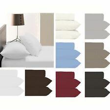 50cm Mega Wall Pillowtop Mattress 100% Cotton Fitted Sheet+2 P/cases QUEEN KING