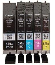 1X CANON Original CLI551XL BK/C/M/Y  PGI550XL