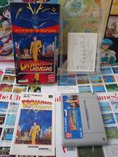 Super Famicom SFC:Dynamaite - The Las Vegas [TOP & 1ERE EDITION] Jap