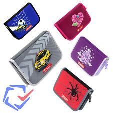Accessoires pour l'école Rectangle coloré Trousse à crayons Étuis scolaires