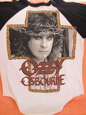 Vintage OZZY OSBOURNE Concert Jersey T-Shirt 1988 Size Md True vintage Original