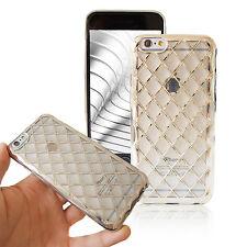Case Cover für iPhone 5 6 6+ Schutz Handy Hülle Transparent Slim Dünn Silber