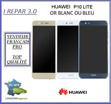Ecran Lcd Original+Vitre tactile + châssis Huawei P10 lite Bleu Blanc ou Or