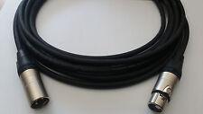 CAVO MICROFONICO PROFESSIONALE ASSEMBLATO TASKER C128, INTESTATO XLR NEUTRIK M/F