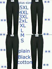 Para Hombre Pantalones Bombachos Gimnasio De Entrenamiento Ejercicio De Chándal Pantalones de trabajo pequeño a 5XL Negro
