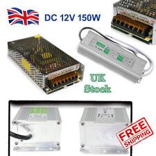 DC 12V LED Driver Power Supply Transformer 150W - DC  for LED Strip CCTV MR16 UK
