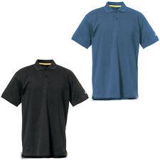 CAT Caterpillar Classic Cotton Polo Shirt Durable Work Mens Tee T-Shirt