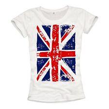 England T-Shirt Damen UNION JACK Great Britain United Kingdom UK T-Shirts London