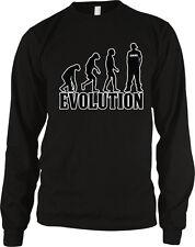 Evolution Swag Sideways Hat Baggy Pants Monkey Ape Human Chart Am Men's Thermal